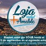 #Loja l  Lojano apoya a tu ciudad votando al siguiente link: http://t.co/PgHLlsqlcv http://t.co/7JekDmbTt8