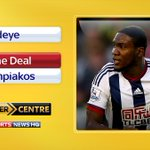 BREAKING: @olympiacos_org sign striker Brown Ideye from @WBAFCofficial. More here: http://t.co/kXOFRDxb8e #SSNHQ http://t.co/eRp8T4TXxa
