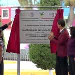 #EnVivo @EPN devela la placa del #MacroMural de #Pachuca http://t.co/NQAzvxVi6T