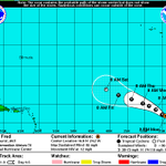 8/31/15 2PM: Fred strengthened into a hurricane late last night. First ever hurricane warning for Cape Verde Islands. http://t.co/IvbblDaijd