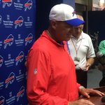 """Rex, regarding Fred: """"This is probably the toughest day I've had here as a coach."""" http://t.co/SIzHhdfXCq"""