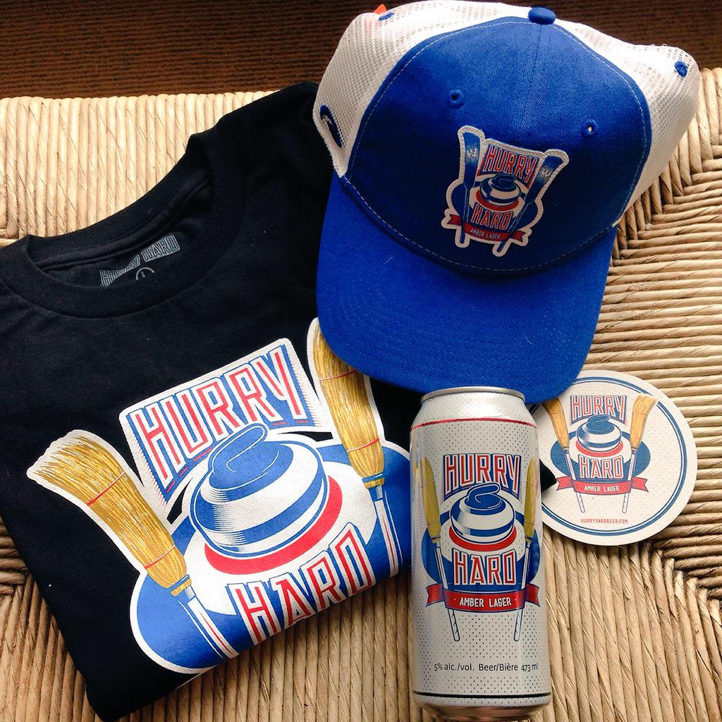 Retweet to enter as well as follow @hurryhardbeer on twitter & Instagram. Draw Wed for this sweet prize pack! http://t.co/suClfijuqs