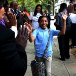 PHOTO GALLERY #NHV Back to School Happiness @nhregister @garthharries @10SDDem @MayorHarp http://t.co/EZZYoEcEV0 http://t.co/ikhGgwrGKH