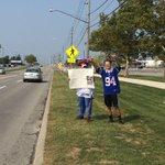 Fan support for Fred Jackson outside RWS #Bills @wgrz http://t.co/6bT4tgSVBq
