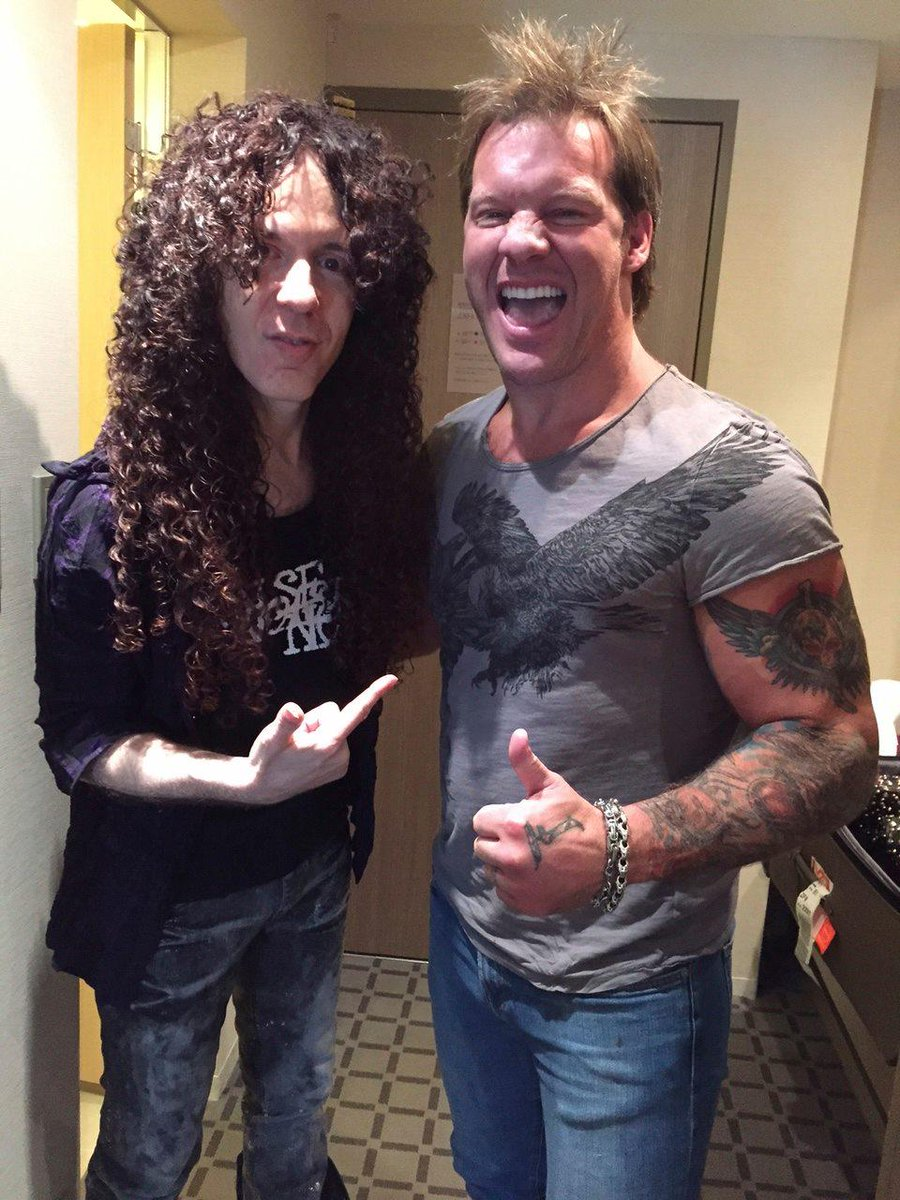.@IAmJericho stopped by to catch up with @marty_friedman in Japan! Get the scoop on the @TalkIsJericho podcast! http://t.co/DDwbutoaOw