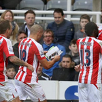 Our favourite Jon Walters moment was when he read the matchday programme to celebrate Crouchs goal at #NUFC! #SCFC http://t.co/XNlBbjhGna