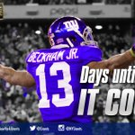 #Giants vs. Cowboys is just 13 days away! Whos ready for a trip down to Dallas? #GiantsPride http://t.co/P5uoykCFgL