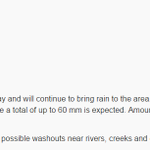 .@environmentca issues a rainfall warning for Metro #Vancouver http://t.co/K6bJhsgK1b