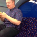 When your mate comes out dressed as a bus seat. http://t.co/LbCwODlYbL