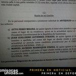 Solicitan antejuicio contra Pérez Molina, y binomio del PAN; Juan Gutiérrez y Manuel Marroquín, por lavado de dinero. http://t.co/QRvsbqKQuS
