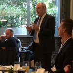 Spoke at Young Professionals brekkie in Qtown on NZs open, connected, innovative, skilled, prosperous future http://t.co/q4uHpMAovH