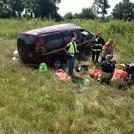Driver of this minivan was seriously injured when the van rear ended a semi on I-65. http://t.co/SUdsrWLoK3 @jconline http://t.co/FASaDsV7Do