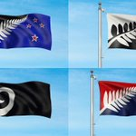 Here are the official images showing the final four flag referendum choices in flight: #nzflag http://t.co/2MOasBbia2