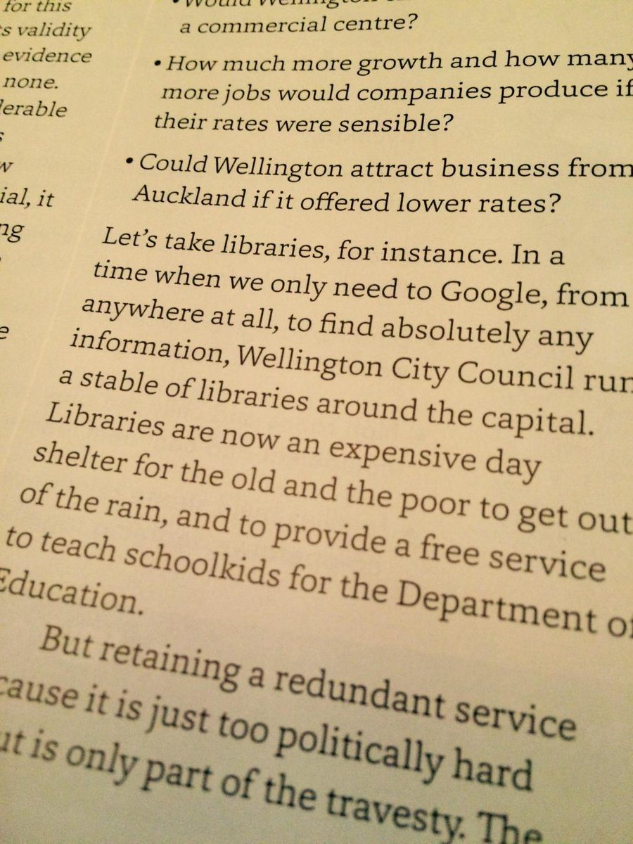 Rex Nicholls in @FishHeadMag saying we should get rid of libraries cos Google exists. Super villain of year again? http://t.co/N7ruhOOWQa