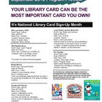 Here's a quick preview of events happening at #SLOCounty libraries this month. http://t.co/7NrjqA5WBC