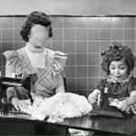 "Mommy Dub and Baby Dub. ""@SenyoraIsadora: ANG KULIT NG ANAK KONG SI @mainedcm THROWBACK WEDNESDAY © @dondelarea1969 http://t.co/gVrs80desx"""