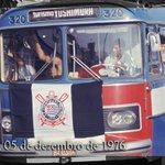 Perdão pela falta de modéstia, mas o Corinthians é o time do povo! E o povo invadiu o RJ em 1976 #EuJáSabia #Timão105 http://t.co/4jszRl5US4