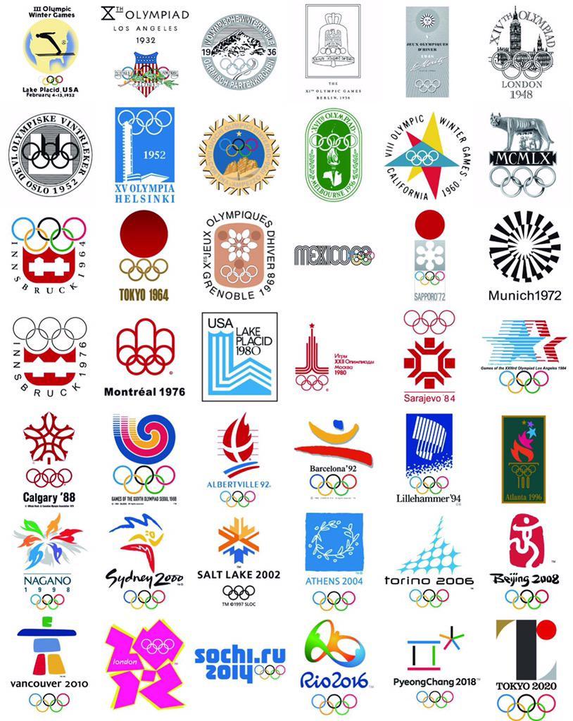 バンクーバーが京都オリンピックのように見えるww  RT @geneiza 歴代エンブレムを見返すと、改めてソチのびっくりするくらいの雑さ加減に和む。 http://t.co/M1EdqvxuYa