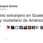 Iván Velásquez: No me siento extranjero en Guatemala, porque soy ciudadano de América Latina. http://t.co/3D6xxy1vdE