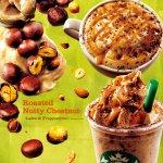 栗の香りと味わいを存分に楽しめる「ロースト ナッティ チェスナッツ フラペチーノ®」のほかにも、秋らしいフードやタンブラー、マグなどが本日から新登場です。 http://t.co/1CQ1YPIJMH http://t.co/XhvLLGTUlP