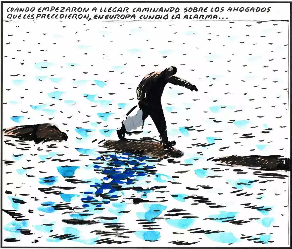 Resultado de imagen de el roto refugiados