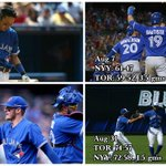 Toronto: Just the 3rd team in MLB history to trail a division by 6 gms entering Aug. & lead a division entering Sept. http://t.co/KjAd0koUNT