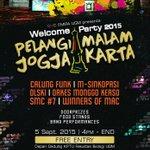 Hi, udah H-4 Welcome Party 2015 nih! Dibuka untuk umum. Pada dateng yuk. Free entry! See you there, guys :) http://t.co/g0NKW8gUnA -@geadiva