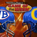 Title/Trophy on line in Game 2 of KFDM BMT Bowl series. West Brook can claim 3rd straight w/win over .@OzenFootball http://t.co/WXZNe2UmII