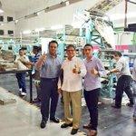 Listo!!  Primer ejemplar de diario @QuintanaRoo_hoy un sueño hecho realidad de @grupocanton http://t.co/OccZmfpQPr