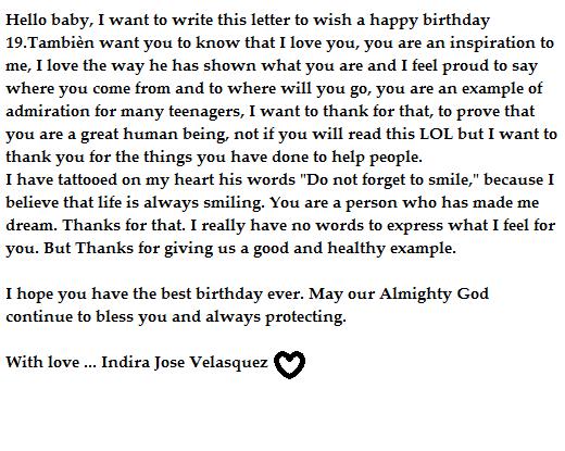 Te amoooo <3 Happy Birthday<3 <3