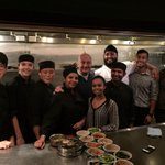 Thank you @Vijs_restaurant & My Shanti for your hospitality & delicious food. Loved it.:) #Vancouver #USATour