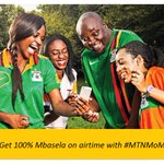 100% Mbasela on Airtime? Now thats a great DEAL! Buy your airtime via Mobile Money & enjoy this fantastic offer! http://t.co/p5wUoIFGkx