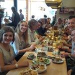 Heel gezellig aan het lunchen bij bagels & Beans. #aflbreda #nhtv @ArendHardorff Dank voor de tip! http://t.co/qhbwlGV8bh