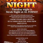 Treat yourself tonight and join us for steak night. Call 01325 466585 or 01642 242191 to book. #darlobiz #teesside http://t.co/X5s016PRVY