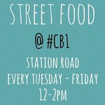 TODAY we launch our new 4-day a week lunch market at #CB1 Station Rd! See you there?   http://t.co/wSu9cMlecJ http://t.co/6dzfX0sbtr