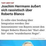 Oh je, er hat #Neger gesagt ???????????? Jetzt muß er sicher zurücktreten❗ #hartaberfair #robertoblanco http://t.co/aRT1gRr6Rx http://t.co/sT9CFzwq6W