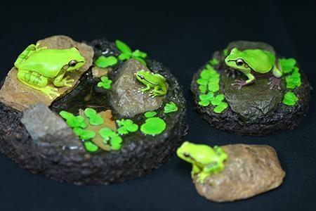 京都府「恵文社一乗寺店」で9月22日(火・祝)~9月28日(月)に『カエル工房 15周年作品展』が開催されます。リアルな両生類、は虫類、キノコなどのレプリカや作品を展示します。 http://t.co/5Gk6EmLMNC http://t.co/kY8gpxXPyX