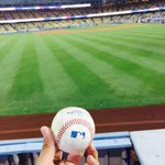 @Dodgers @AdrianTitan23 game winning ball #14thinning #worththewait http://t.co/faHYwPUzvE