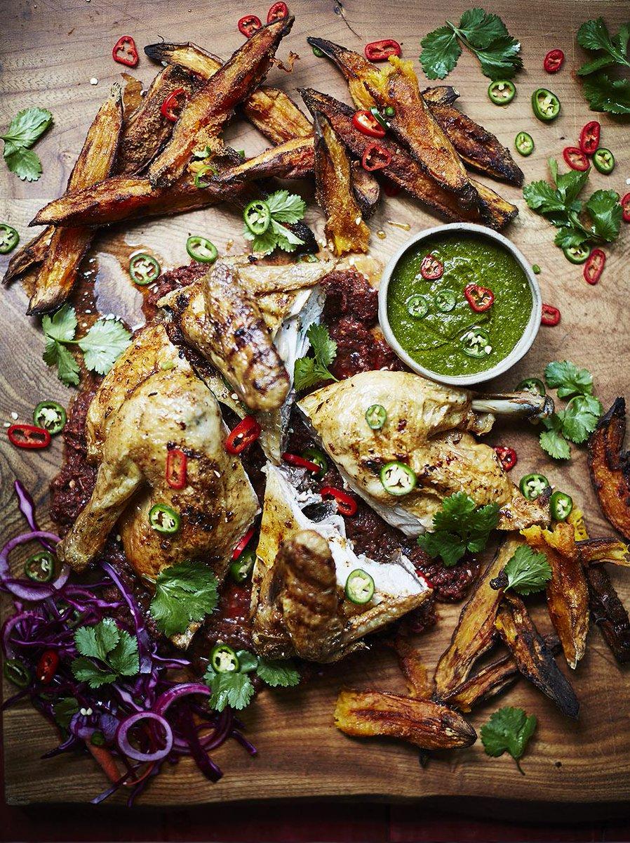 guys #recipeoftheday piri piri chicken + sweet potato wedges & jalapeño salsa!! delicious! http://t.co/sIuuw47vZE http://t.co/0aq8hJmBqq