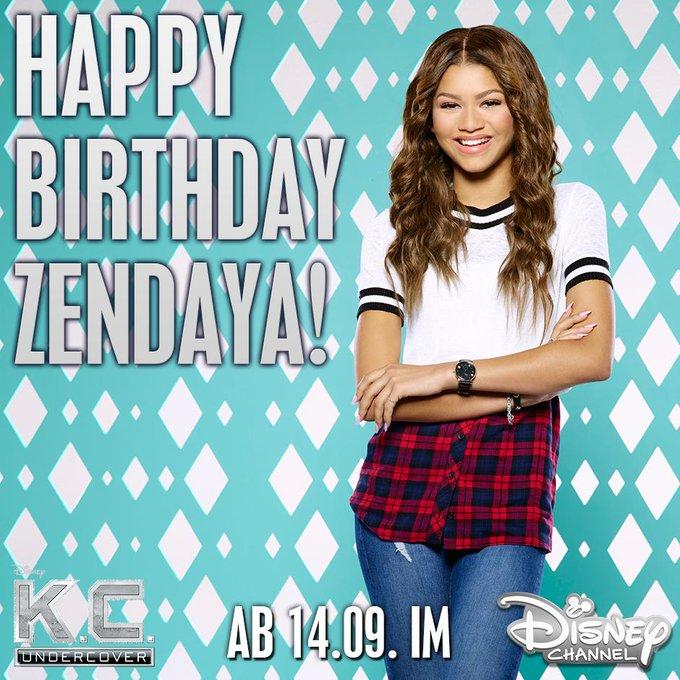 Happy Birthday, Zendaya! In Kürze könnt ihr in ihrer neuen Serie im Disney Channel sehen!