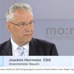 "Joachim Herrmann im ZDF: ""Ich benutze das Wort Neger sonst nicht"" http://t.co/ATnLQlGCHq /ee http://t.co/l2VeIr1Ky1"