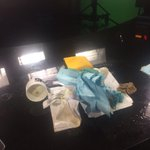 #ProTip dont lob a cornhole bag at the desk on live TV. You will knock your coffee over.  #AMnewsers @AmandaKinseth http://t.co/Qe0ugmGYAF