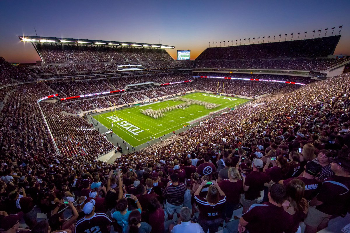 The stadium. The fans. The game. The #KyleField opener was a night we won't forget @AggieFootball @12thManFndtn @TAMU http://t.co/DXcaGCUuIm