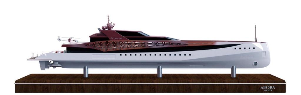 Al Jamal Yacht Scale Model. #3dprinting #Boat #yacht #aborayachts #yachting #GranCanaria #yachts http://t.co/d0gad4FdKY