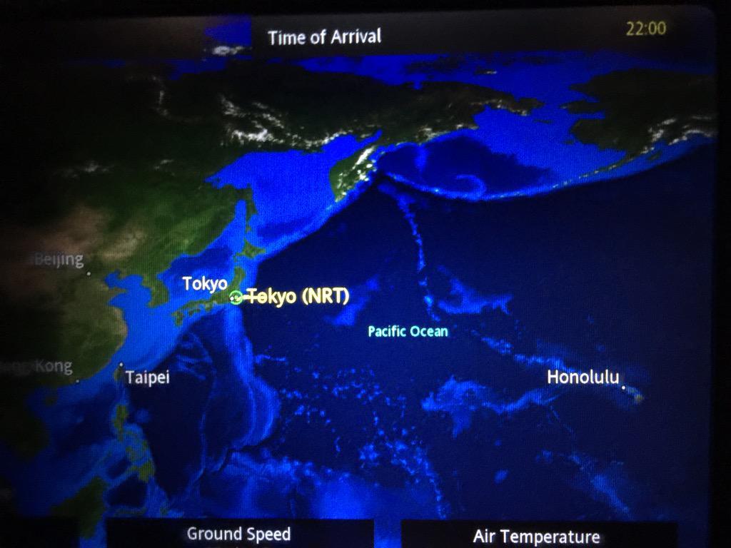 成田出発、上空でエンジンが火を噴く、上空旋回2時間後に成田着陸。 http://t.co/go6K5WaZGs