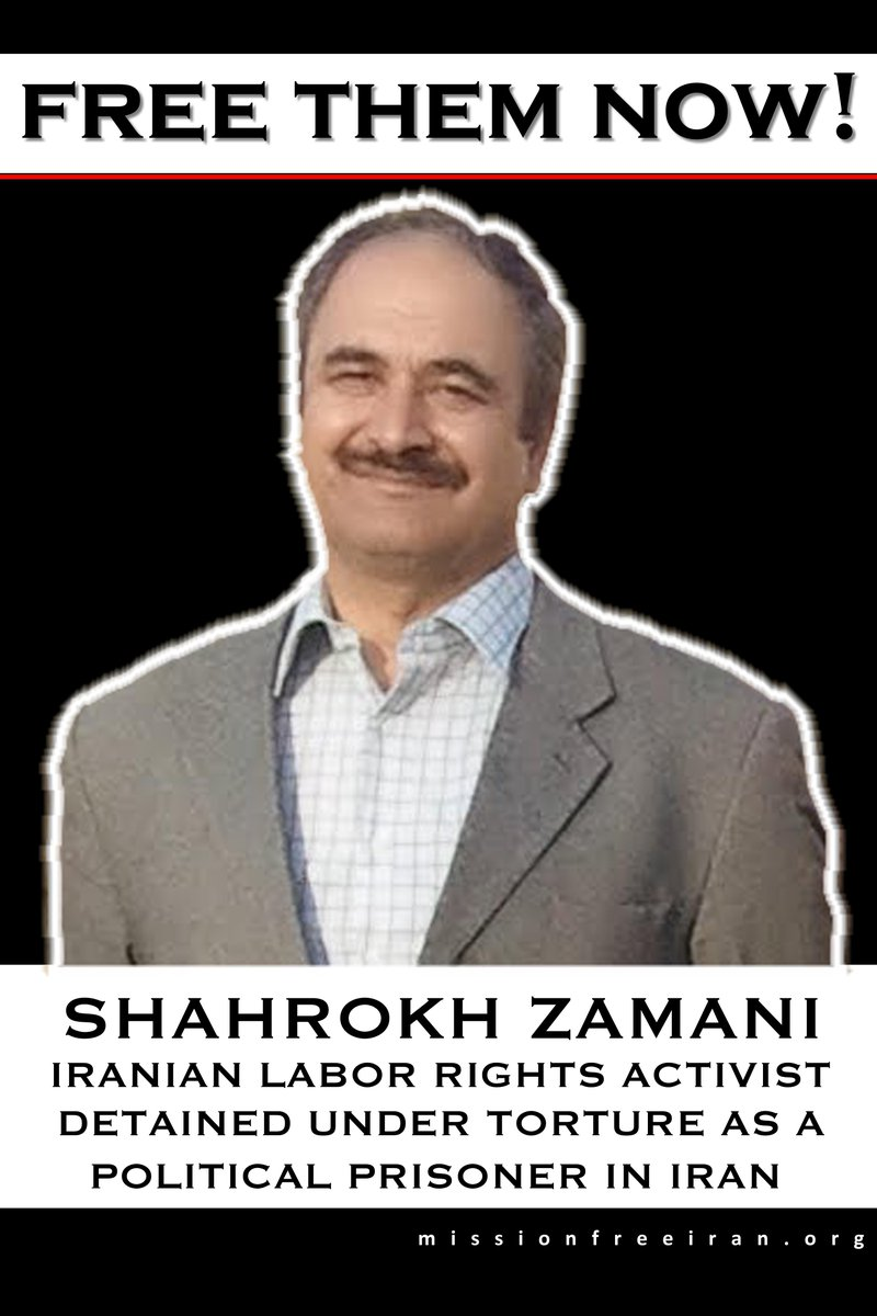 Devastating: Shahrokh Zamani, beloved labor activist & political prisoner in #Iran, found dead in cell today. :..( http://t.co/cvLplLFgzg