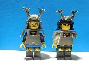 そういえば、レゴニンジャゴーが今ノッているらしいが、おじさんの若い頃はね、レゴ忍者といえばレゴショーグンのお付きのイメー