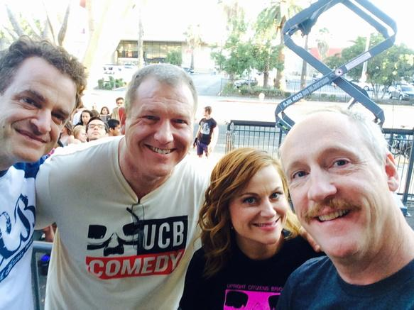 Look at these guys celebrating 10 years of UCB LA. #ucb10LA http://t.co/ngBKo2ot2n