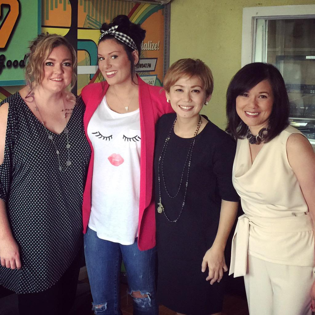 Funfunfun interview with best selling authors @colleenhoover @tarrynfisher and @christinebrae on the #wakeupshow947 http://t.co/S7jTqxJk5O