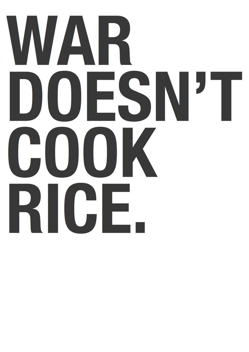 いまさらですけど、A3仕様、作ってみました。War Doesn't Cook Rice. セブンイレブンのネットプリント。プリント予約番番号:49292606 http://t.co/LTXz6W9Tly